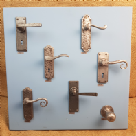 Pewter Door Handles